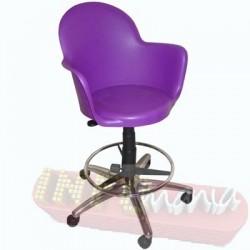 Cadeira Boston caixa púrpura