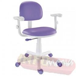 Cadeira lilás giratória Kids digitador