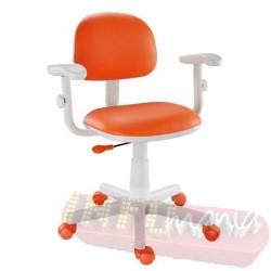 Cadeira laranja giratória Kids digitador