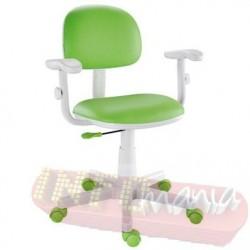 Cadeira verde limão giratória Kids digitador