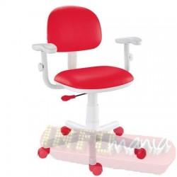 Cadeira vermelha giratória Kids digitador