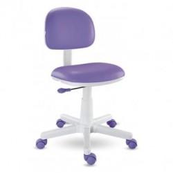 Cadeira lilás kids giratória