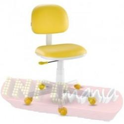 Cadeira amarela giratória Kids