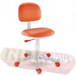 Cadeira laranja giratória Kids