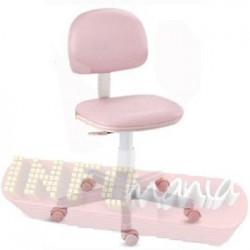 Cadeira rosa bebê giratória Kids